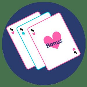 Il y a de bons bonus en jouant au blackjack